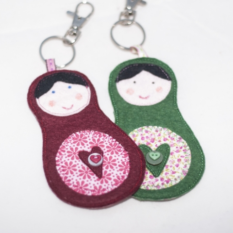 Matryoshka Doll Bag Charm